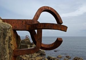Haizearen Orrazia / Peine del Viento, Eduardo Chillida, Donostia (Some rights reserved by Sebastià Giralt)