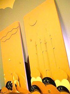 "Francisco deSena - ""Endscape"", Arm Factory (Portland Maine), Medium density fibreboard, 2007"