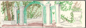 Sather Gate Sketch