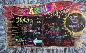 Cowpoke Carnival Sign 2015