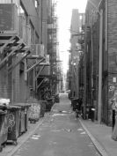 Back Bay alley, Boston, Massachusetts